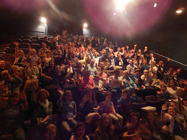 An audience at Putney Arts Theatre